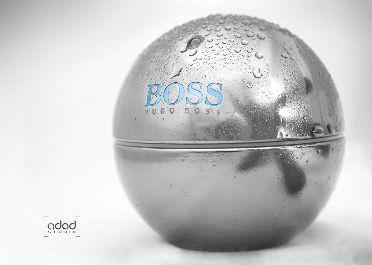 عکاسی صنعتی محصولات آرایشی و بهداشتی BOSS