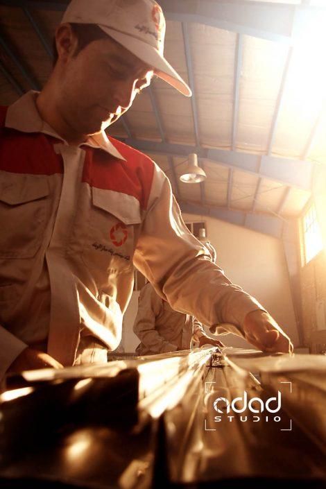 پروژه عکاسی صنعتی پروفیل الوند