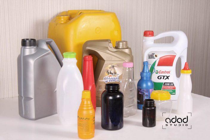 عکاسی صنعتی دستگاه تولید انواع ظرف پلاستیکی